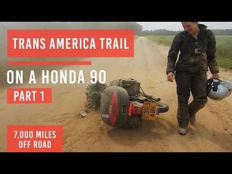 EP9: Trans-America-Trail Part1 (Alaska to Argentina)
