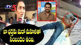 Comedian Vijay's Wife Vanitha Reddy Speaks With Media Over Vijay Sai Suicide