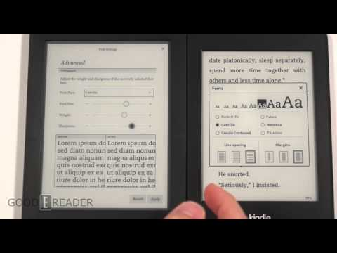 Amazon Kindle Paperwhite 2 vs Kobo Aura HD