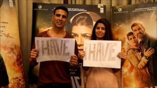 Akshay Kumar & Nimrat Kaur Play Never Have I Ever