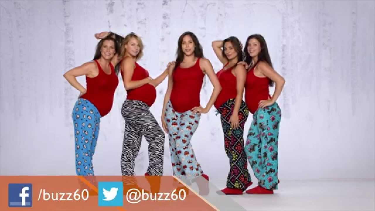 Dancing Pregnant Women Take Over Joe Boxer Christmas Ad