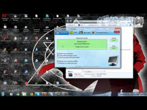 Tutorial FRAPS programa para grabar pantalla micro y altavoz de tu PC
