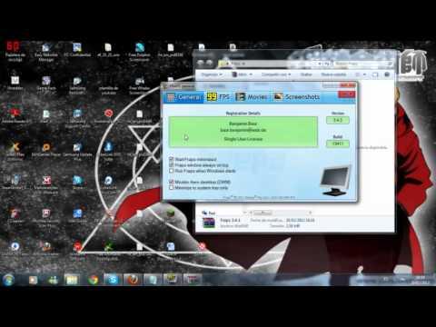 Tutorial FRAPS ( programa para grabar pantalla , micro y altavoz de tu PC )