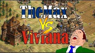 MEJOR DE 5 DE INFARTO! THEMAX vs VIVI- AGE OF EMPIRES 2
