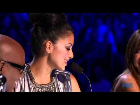 Nicole's birthday on The X Factor (including Simon singing Happy Birthday)