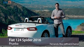 Fiat 124 Spider 2016 - Prueba (test) | km77.com