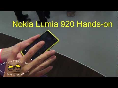Nokia Lumia 920 Hands-on- Pureview Camera Test....Awesome!!!!