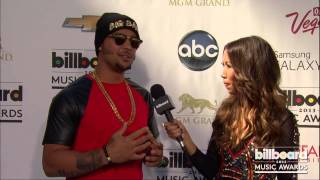 LMFAOs SkyBlu on the Billboard Music Awards Blue Carpet 2013
