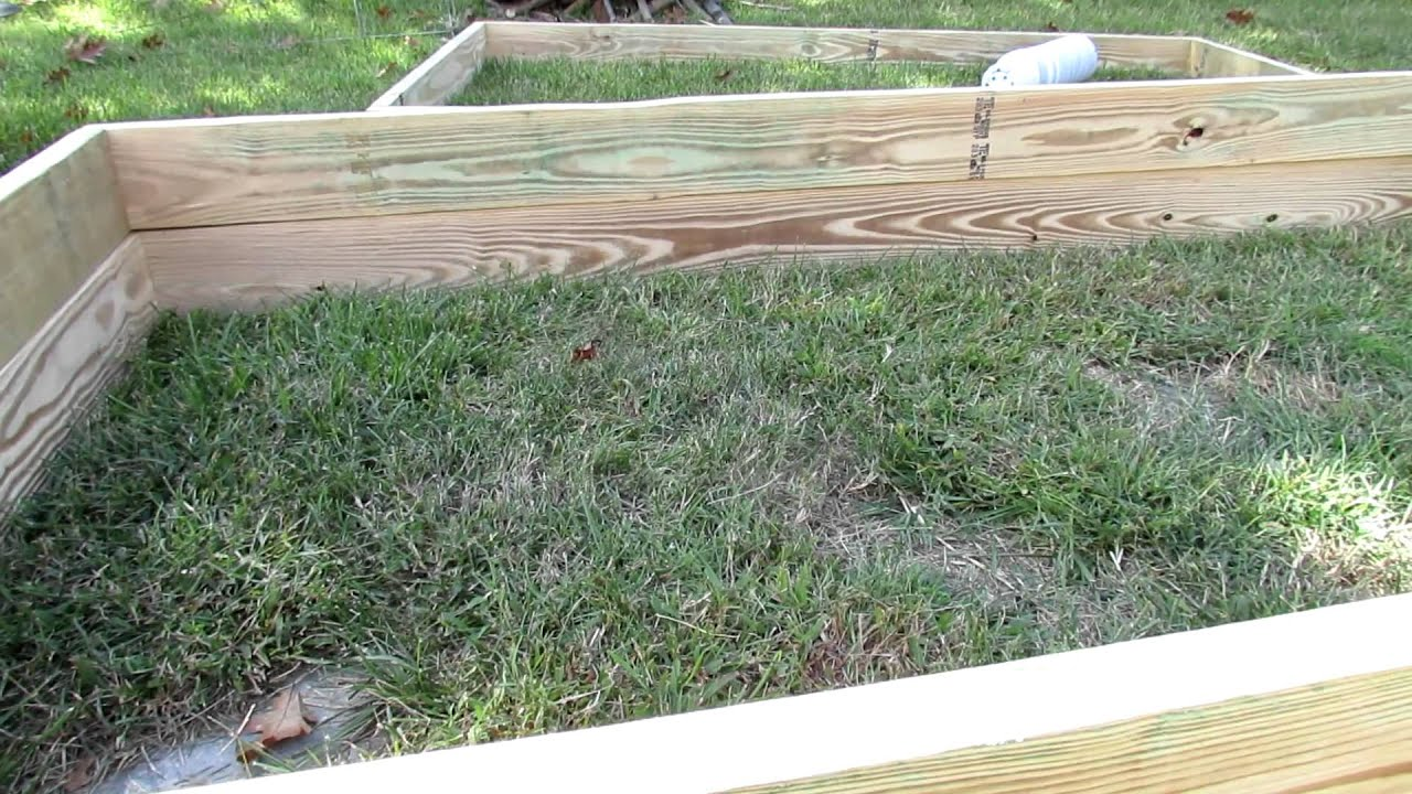 Raised bed garden frames design questions answered youtube for Garden design questions