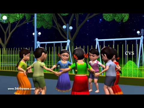 Boys And Girls Come Out To Play - 3D Animation English Nursery Rhyme For Children