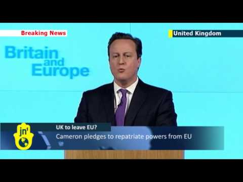 UK to leave EU? PM David Cameron announces plan to hold EU referendum by 2017