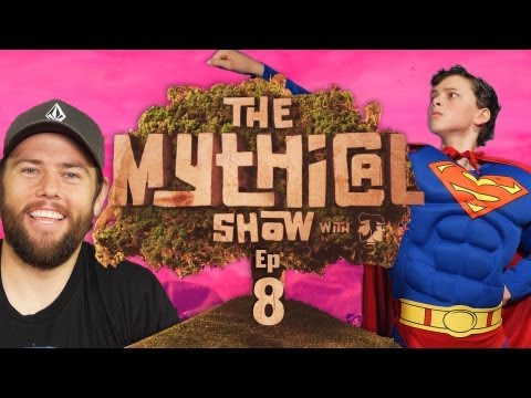 The Mythical Show Ep 8 (Man of Steel Musical, Shaycarl, & Yo Daddy Rap)