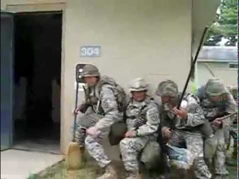 American soldiers cleaning day (funny)