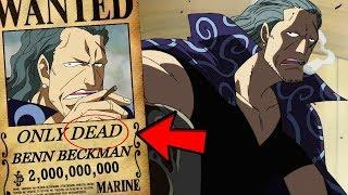 Tiền truy nã của Shanks, Benn Beckman, Yasopp và Lucky Roo [One Piece]