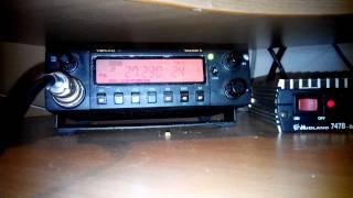 ПрохоЖдение Тамбов. Юра 24-й Работает на SDR 1000,600Ватт в анТенне.