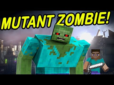 Minecraft | MUTANT ZOMBIES! | Attack Entire CITY!