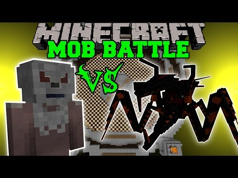 NECHRYAEL VS JUMPY BUG Minecraft Mob Battles Minecraft Mods
