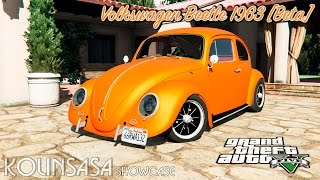 GTA 5 Volkswagen Beetle 1963 [Beta]
