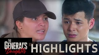 Rhian tries to convince Banjo to do the right thing for his family | The General's Daughter