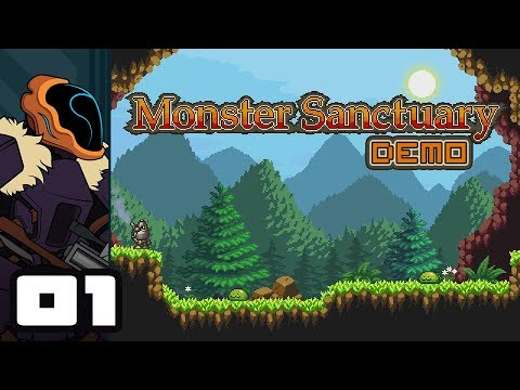 Let's Play Monster Sanctuary [Demo] - PC Gameplay Part 1 - A Monster Collection Metroidvania? Sweet!