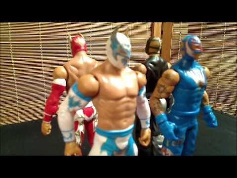 Mattel WWE Sin Cara & Rey Mysterio Battle Pack Review
