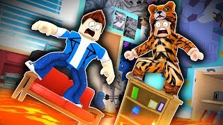 Roblox Daycare - THE FLOOR IS LAVA !? (Roblox Roleplay)