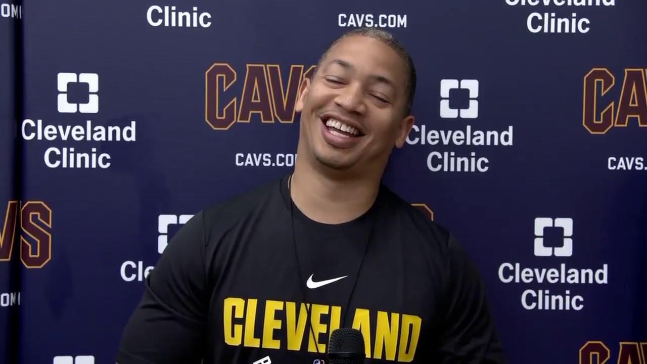 Tyronn Lue talks Dwyane Wade and Cavaliers | ESPN
