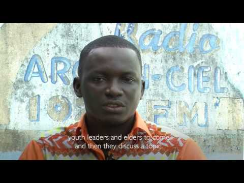 Ako's Radio: A young African leader amplifies voices of peace