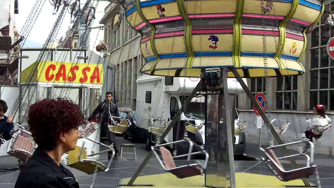 Giostra delle catene youtube for Giostra a catene