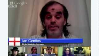 Ian Gentles talking about G+ Hangouts