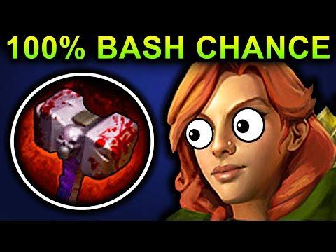 BASHER WINDRANGER DOTA 2 PATCH 7.06 NEW META PRO GAMEPLAY