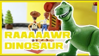 Dinosaur for Kids T Rex Scary Story Buzz Woody PLAY FUN TOY STORY 4 DISNEY PIXAR