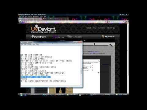 RLC UTHERVERSE TUTORIAL : HOW TO USE UVD (www.uvdeviant.com)