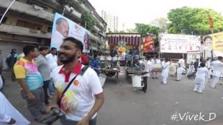 Ekdant Musical Beats (jogeshwari) at RajRajeshwari Chaitra Navratri Visarjan 2016, Tardeo #Vivek_D
