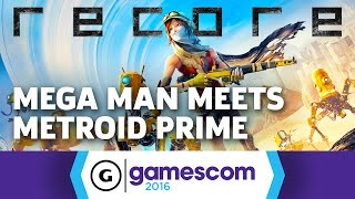Recore is Mega Man Meets Metroid Prime