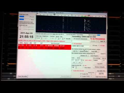 Rough Guide to a JT65-HF QSO