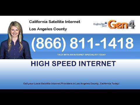 Los Angeles County CA High Speed Internet Service Satellite Internet HughesNet