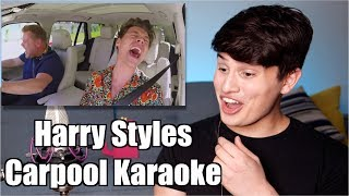 Download Lagu Vocal Coach Reaction to Harry Styles Carpool Karaoke Gratis STAFABAND
