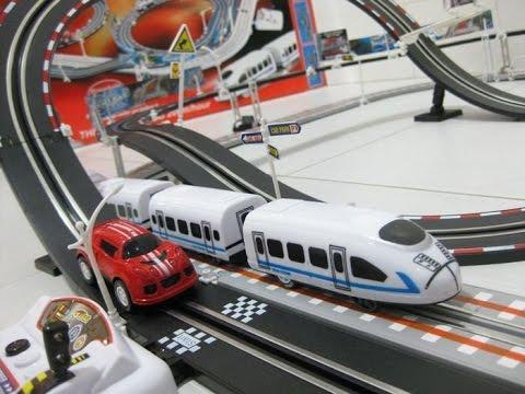 trenes juguetes para los niños, dibujos animados infantiles
