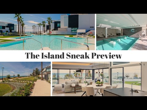 The Island Estepona / Sneak Preview of the best front line beach townhouse for sale - (2020)