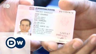 البطاقة الزرقاء للأقامة والعمل في المانيا | صنع في ألمانيا