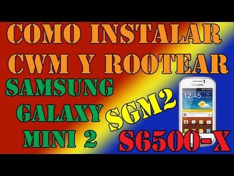 Como instalar el CWM (ClockWorkMod) y Rootear el Samsung Galaxy Mini 2 (SGM2) (S6500)