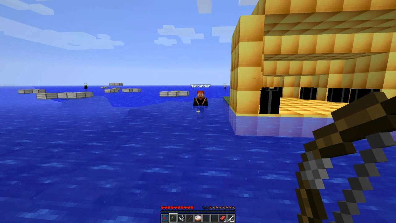 Minecraft The Hunger Games Mod Showcase 1 YouTube