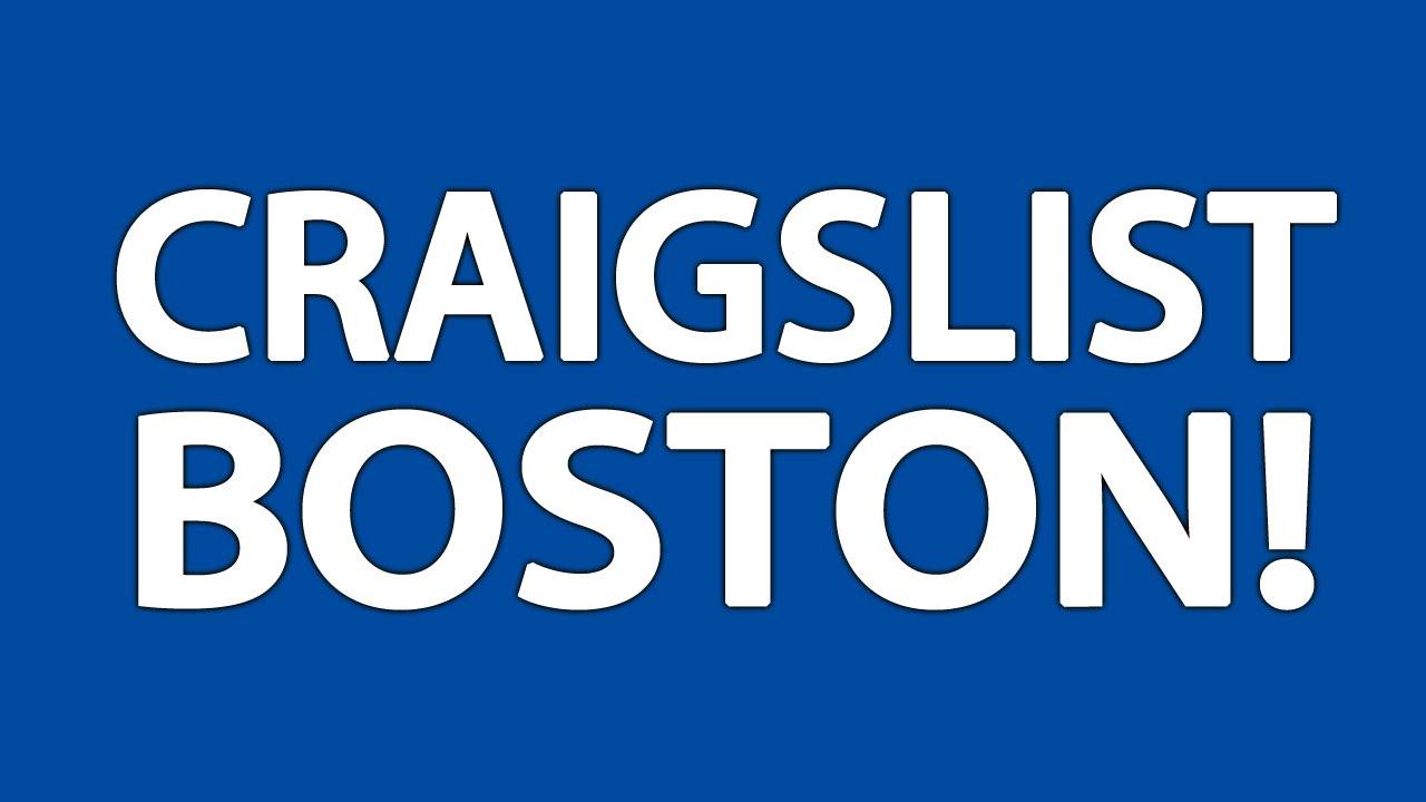 Craigslist Boston - YouTube