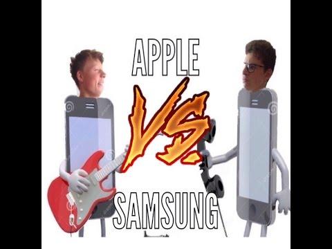 apple vs samsung-les smartphones