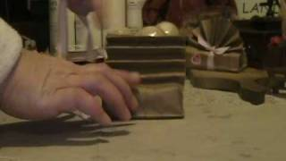 Handmade Soap Wrapping Idea #2 PLEASE SHARE YOUR WRAPPING IDEAS WITH A VIDEO RESPONSE