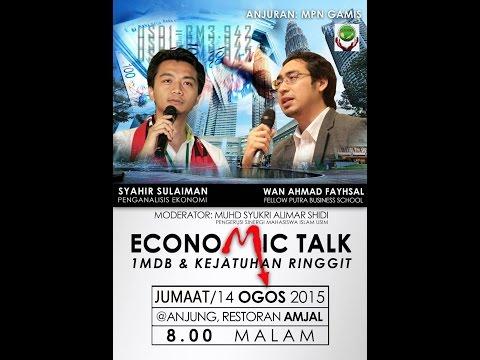 Forum Ekonomi - 1MDB & Kejatuhan Ringgit Malaysia