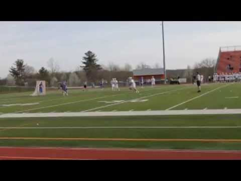 Chris Burns #20 Lacrosse Goalie at Washington Township High School