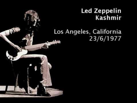 Led zeppelin kashmir los angeles 23 6 1977 youtube