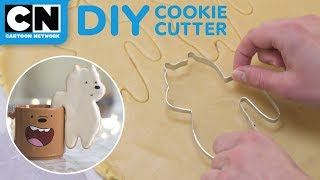 DIY We Bare Bears Cookie Cutter | LET'S BUILD